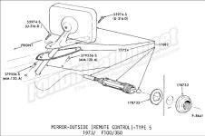 1975 Ford Bronco Wiring Diagram furthermore 1955 Ford Alternator Wiring Diagram further P479 dana spicer 5 260x 4x4 front axle universal joint together with Cg cat3 lights together with Rt 1273 Technical Diagrams Archives. on 1975 ford f100