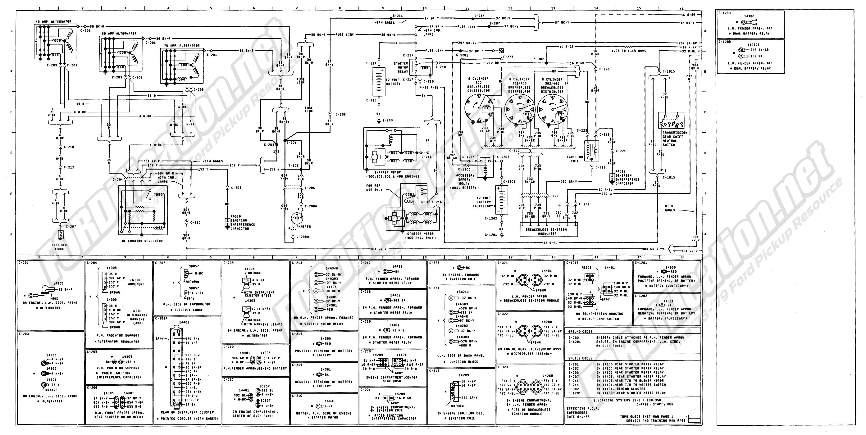 wiring_79master_2of9 72 f350 ignition question wiring ford truck enthusiasts forums Universal Ignition Switch Wiring Diagram at gsmx.co