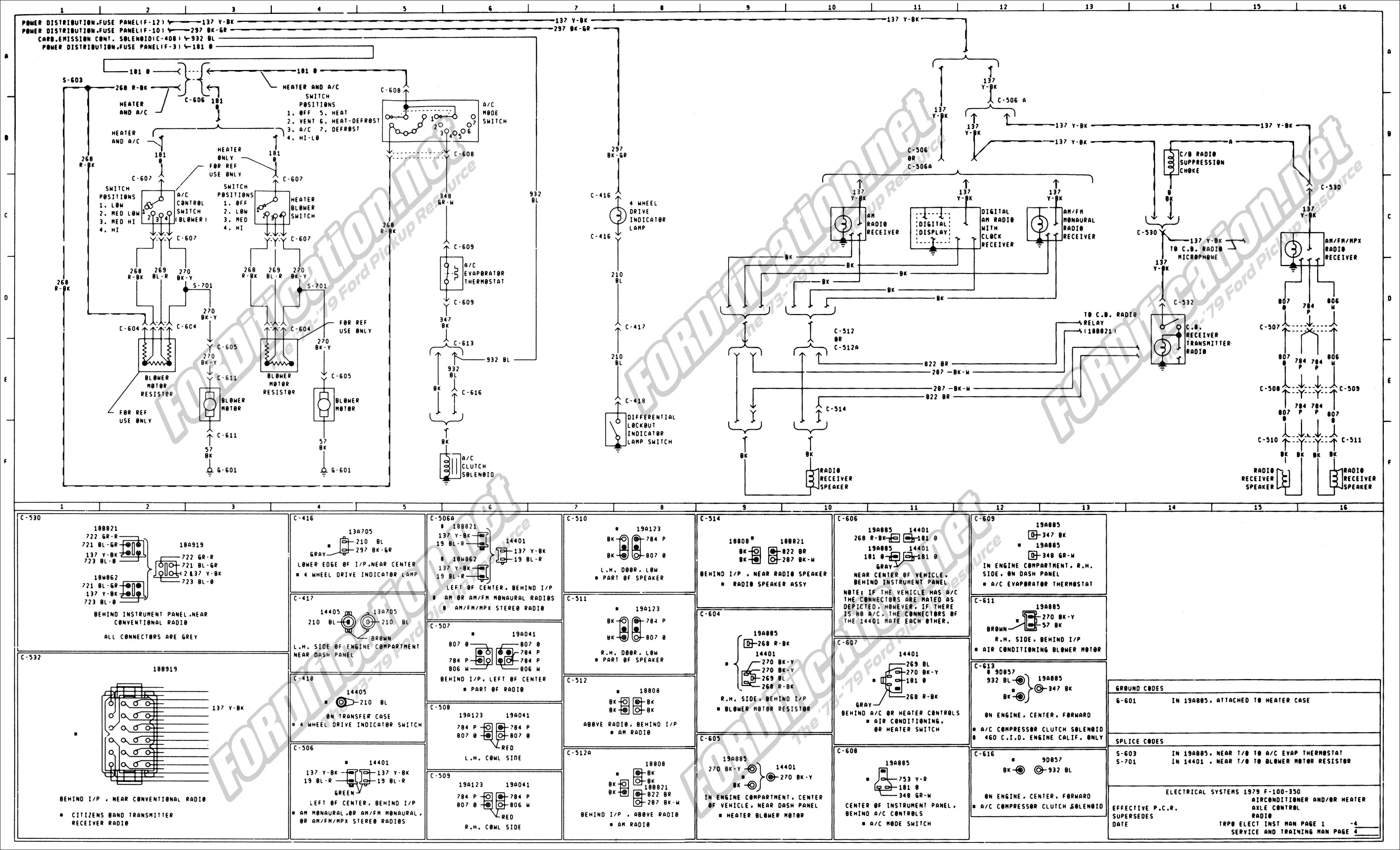 wiring_79master_4of9 79 bronco heater blower wiring question ford truck enthusiasts 1979 bronco fuse box diagram at crackthecode.co