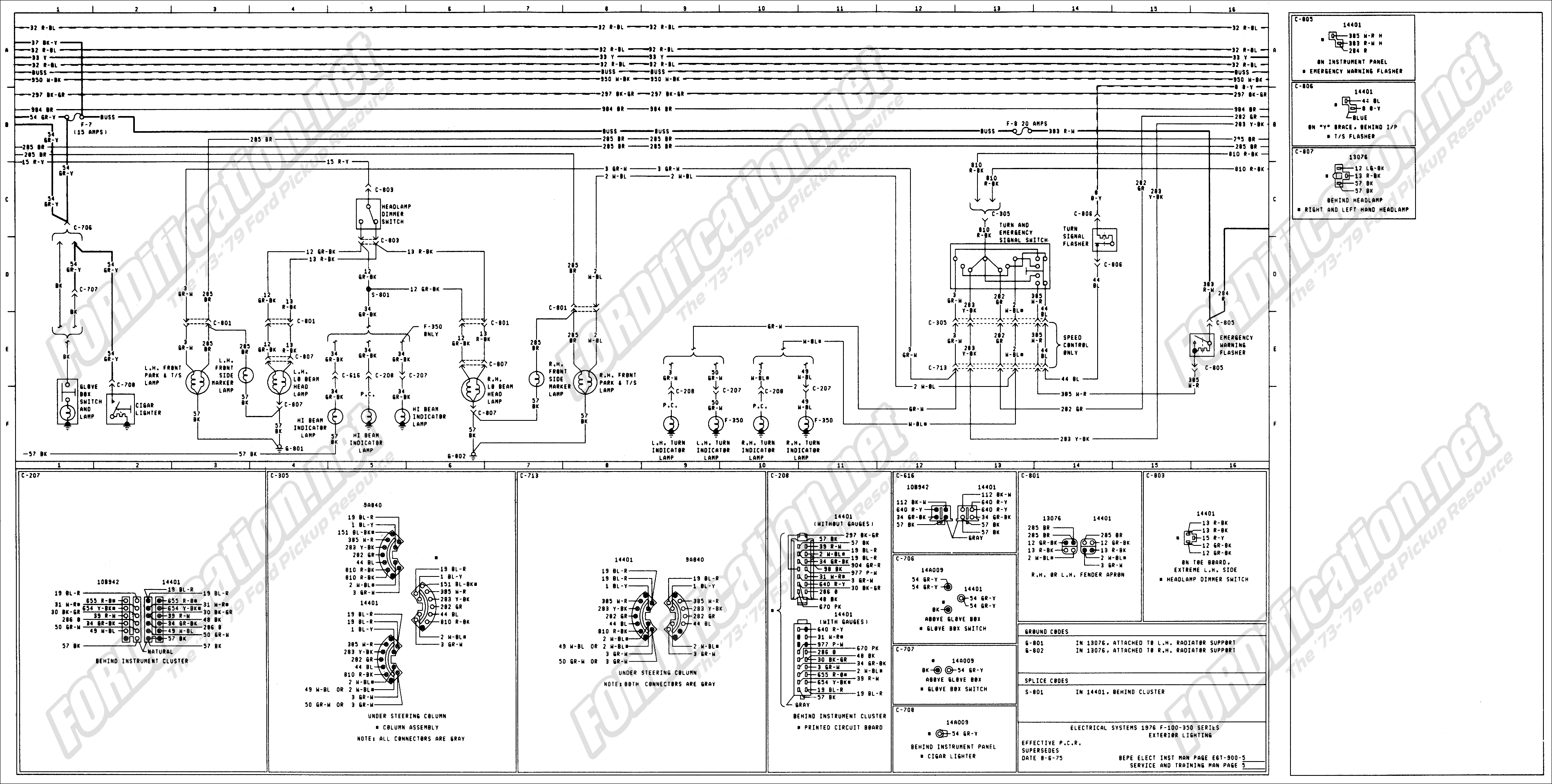 1966 F 100 Wiring Diagram Coil Texas Bragg Trailer Ford F100 Diagram1968 1968 Image Changed Column In